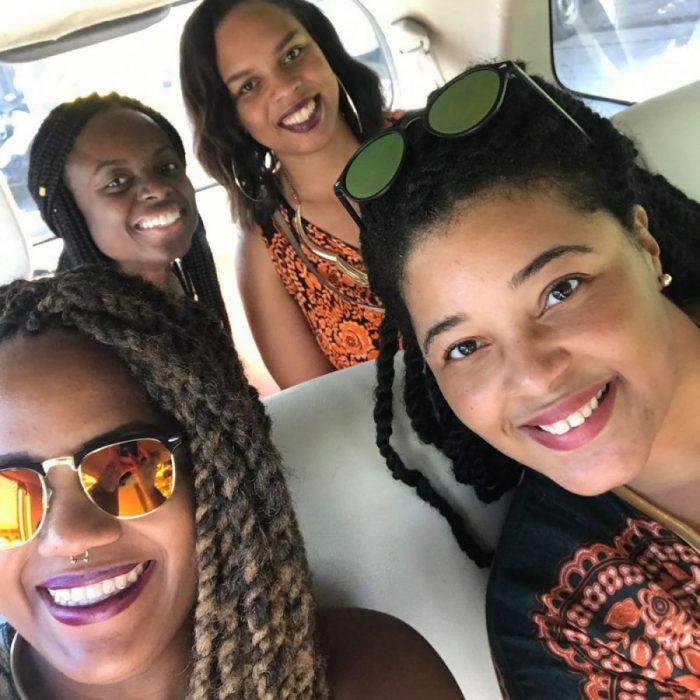 African girls in bangkok